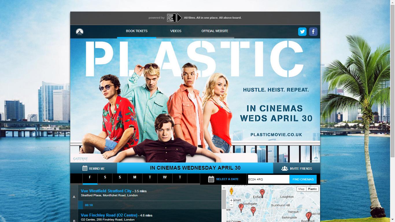 Find Any Film Ticketing App