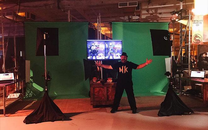 Mortal Kombat 11 - Greenscreen