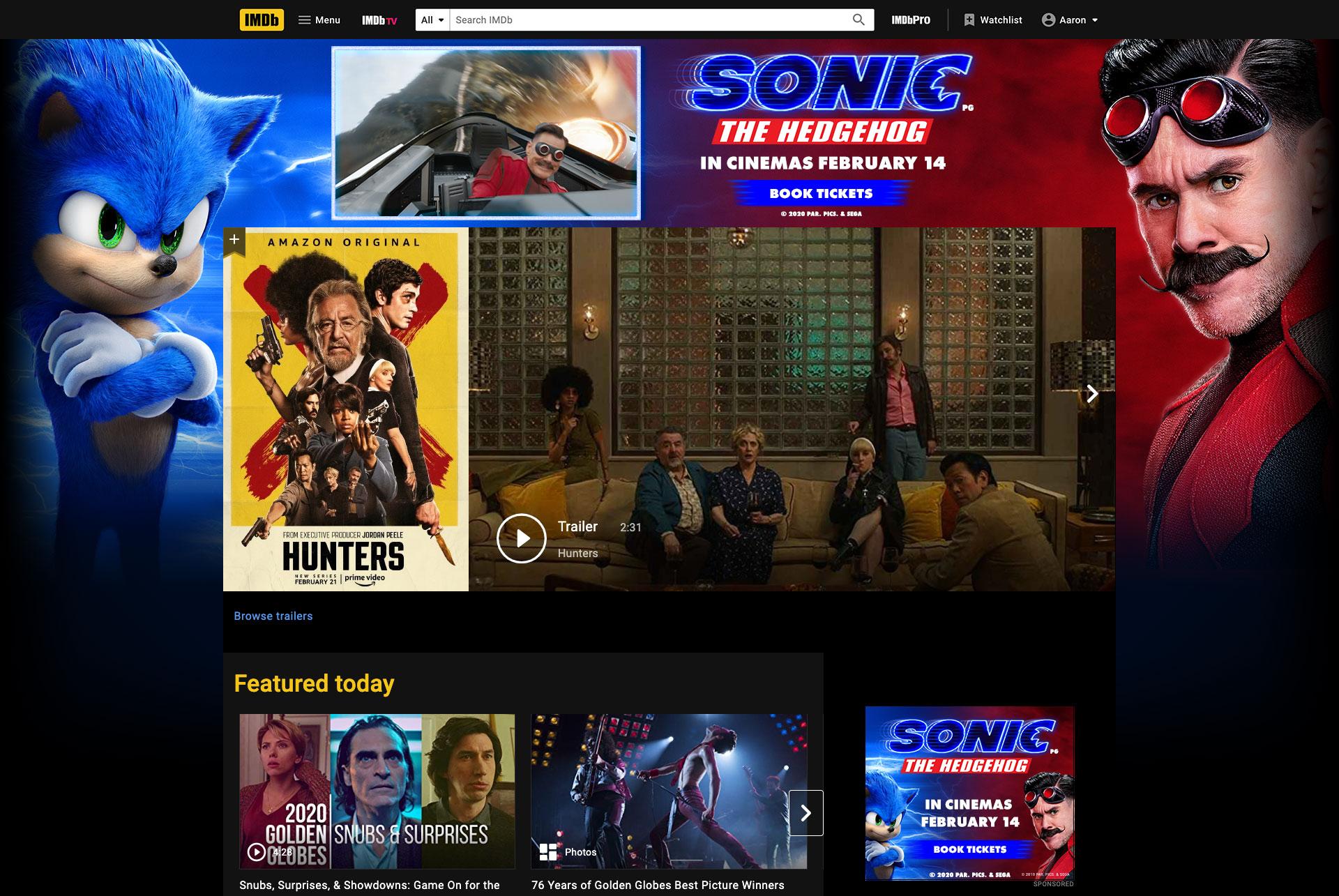Sonic the Hedgehog - Digital Display